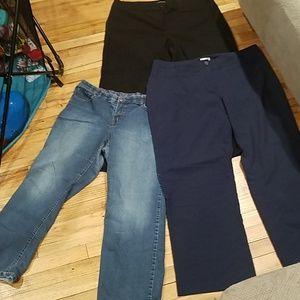 Pants - 3 pants bundle lot size 20